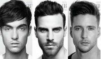 Uzun Yüzlü Erkekler için 2018 Moda Saç Modelleri