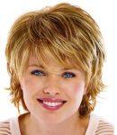 Yuvarlak Yüzlü Bayanlar için Kısa Sarı Saç Modelleri