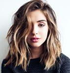 Dalgalı Lob Saç Modeli