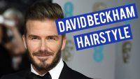 David Beckham Wax Saçlar