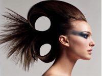 Sıra dışı Balık Tipi Kadın Topuz Saç Modeli